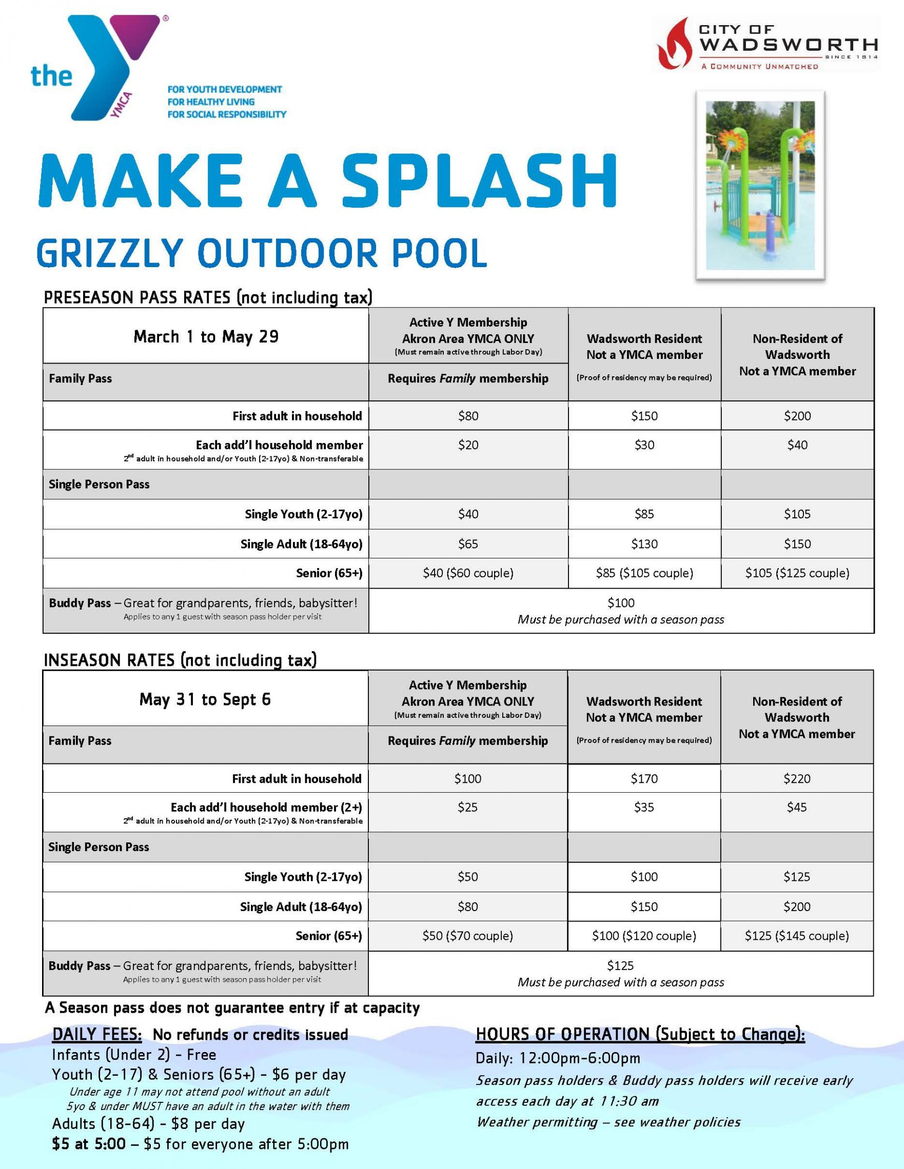 outdoor pool pricing