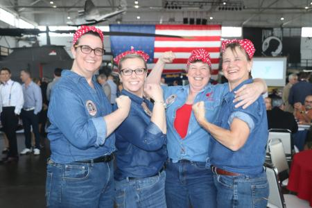 Rosie the Riveter from Green Family Y